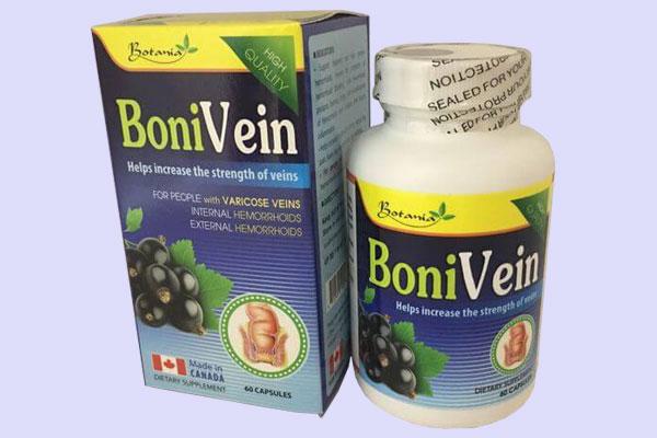 BoniVein có tác dụng gì?