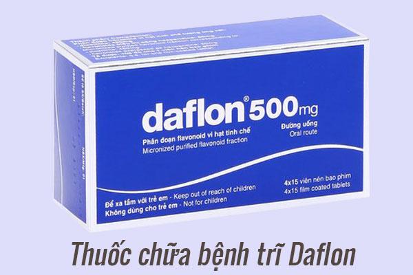 Thuốc điều trị bệnh trĩ Daflon