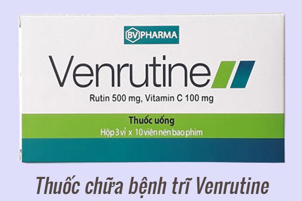 Thuốc điều trị bệnh trĩ Venrutine