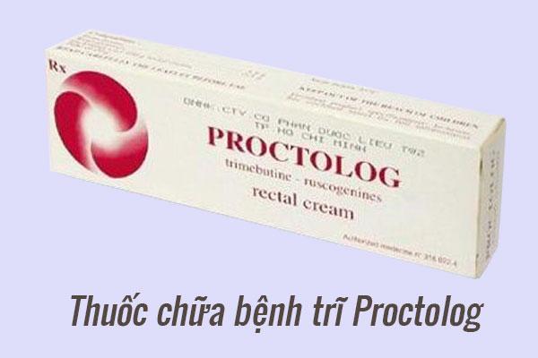 Thuốc điều trị bệnh trĩ Proctolog