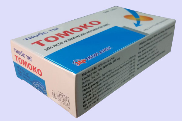 Thành phần thuốc trĩ Tomoko