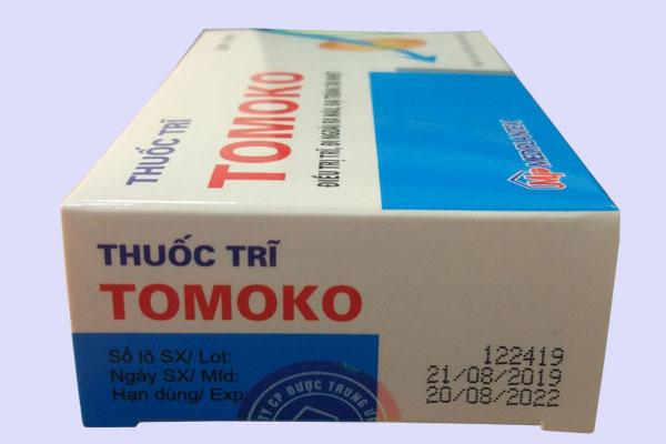 Tác dụng của thuốc trị trĩ Tomoko