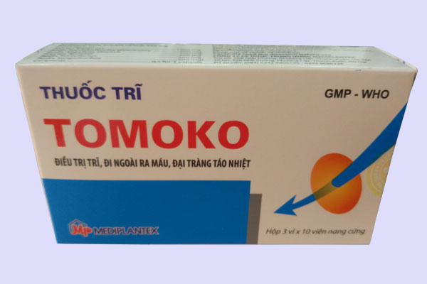 Thuốc trĩ Tomoko chính hãng giá bao nhiêu?