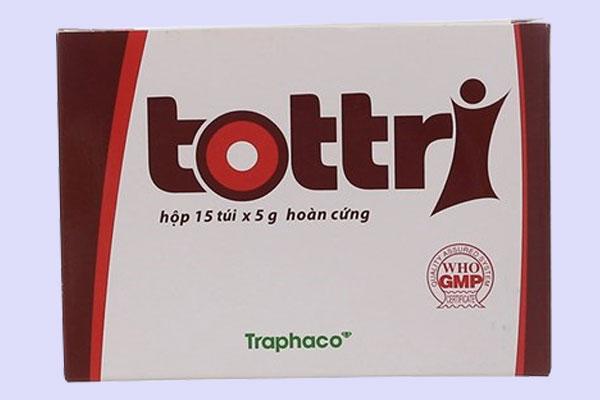 Thuốc trị bệnh trĩ Tottri viên nang giá bao nhiêu tiền 1 hộp?
