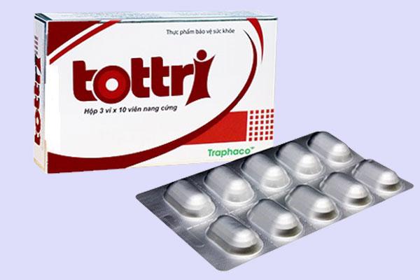 Tottri là thuốc hay thực phẩm chức năng?