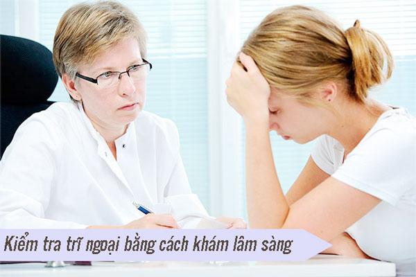 Các biện pháp chẩn đoán bệnh trĩ ngoại