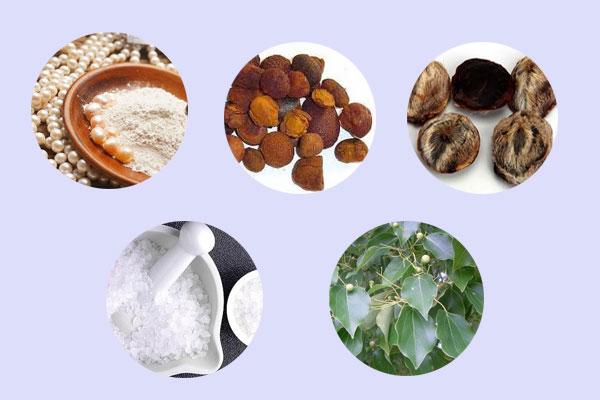 Các thành phần của kem bôi Công trĩ vương