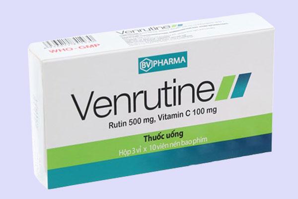 Venrutine 500mg là thuốc gì?