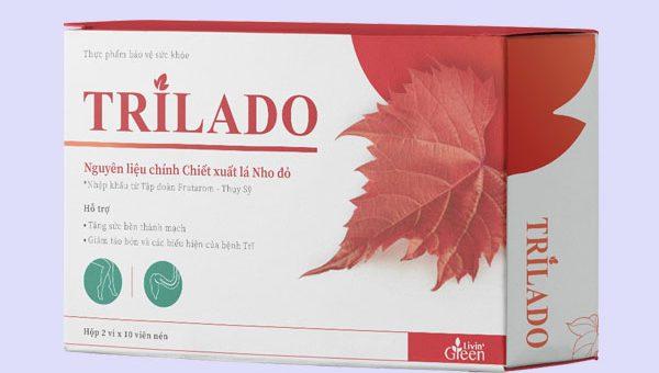 Viên uống Trilado (Trĩ Lá Đỏ)