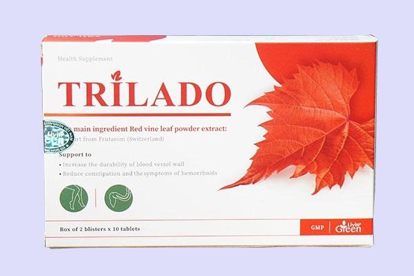 Công dụng của viên uống Trilado