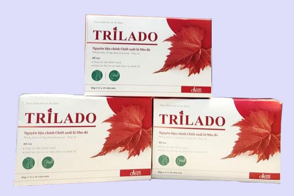 Viên uống Trilado (Trĩ Lá Đỏ) là gì?
